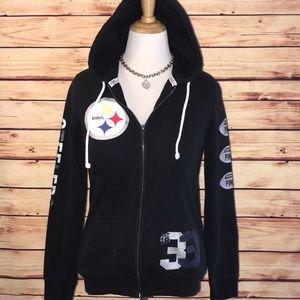 VS PINK Steelers Full Zip Hoodie